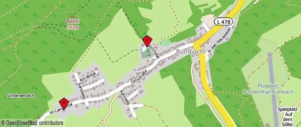 Map Rumbach / Palatinate