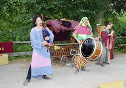Burgfest in Dahn - Foto: K.Faul