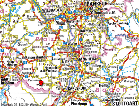 BKG Map