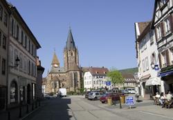 Wissembourg im Elsass - Foto: K.Faul
